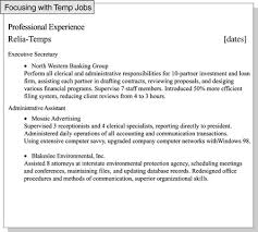 Computer Savvy Resume How To Focus A Resume On Relevant Job Experience Dummies