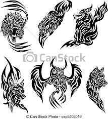 wild animals tattoo some tattoo designs with wild animals eps