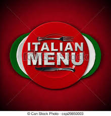 stock photography of italian restaurant menu design restaurant