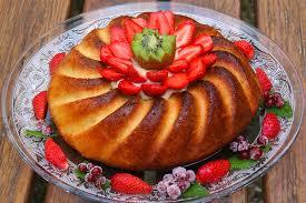 la cuisine de babeth baba au rhum aux fruits frais du festin de babeth