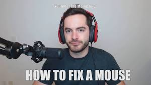 captainsparklez meme how to fix a broken mouse youtube