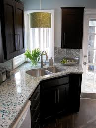 alder wood ginger prestige door small kitchen remodel ideas on a