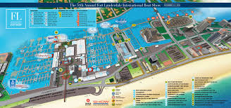 Home Design Show Ft Lauderdale by Overview Maps At Fort Lauderdale International Boat Show 2016