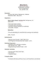 high school student resume templates resume template for high school student gentileforda