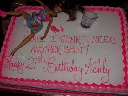 haha i love these drunk barbie 21st birthday cakes too funny