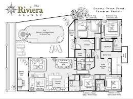 Pent House Floor Plan by Penthouse Luxury Ocean Front Vrbo