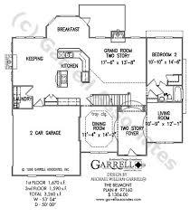 belmont house plan house plans by garrell associates inc