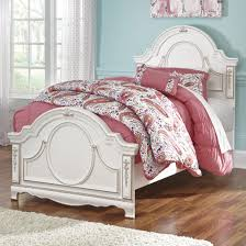 Rose Gold Bed Frame Ornate Traditional Twin Panel Bed With Rose Gold Color Highlights