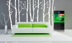 birch tree decor birch tree wall decals australia design idea and decorations