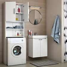 bad weiss badregal hochschrank waschmaschine bad schrank badezimmerschrank