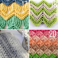 pattern of crochet stitches 25 crochet stitches for blankets and afghans make do crew