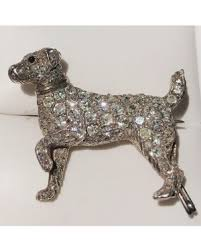 art deco dog ring holder images Brooches and pins jewels by grace jpg
