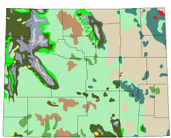 Wyoming vegetaion images Ecological factor maps jpg