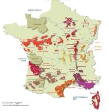 Toulouse France Map by France Wine Map Recana Masana