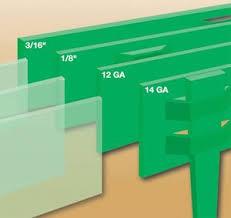 steel landscape edging specs