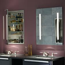 Menards Bathroom Mirrors Medicine Cabinets With Lights Without Mirrors Recessed And Outlet