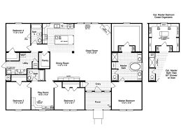 Home Floor Plans Texas The Casa Grande Vr41644a Manufactured Home Floor Plan Or Modular