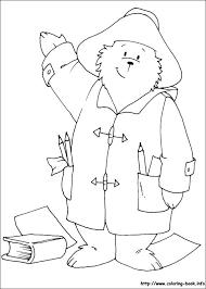 paddington bear coloring pages funycoloring