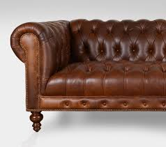 Classic Chesterfield Sofa by Chelsea Chesterfield Leather Collection Cococo Home