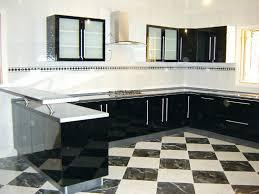 comptoir de cuisine sur mesure cuisine sur mesure algerie cuisine moderne noir avec comptoir