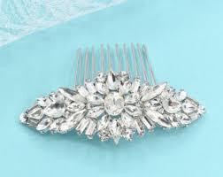 wedding hair combs bridal hair combs etsy
