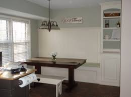 How To Make A Banquette Bench Delighful Built In Dining Room Bench Custom Made Seating To Design