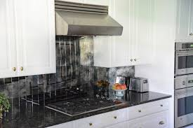 backsplash for black and white kitchen small kitchen decoration using square tile mosaic mirrored kitchen