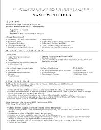 proper format of resume free simple resume builder