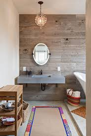 Wood Floors In Bathroom by Salvaged Style 10 Ways To Transform Your Bathroom With Reclaimed Wood