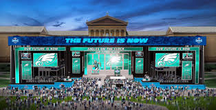home theater philadelphia our guide to the free nfl draft experience in philadelphia april