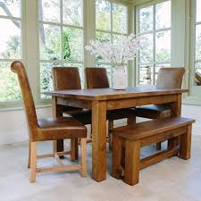 Dining Room Chairs Furniture Rustic Leather Dining Room Chairs Living Room Tables And Chair
