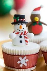 cupcakes de natal u2026 pinteres u2026