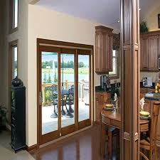 sliding glass door with blinds triple track sliding glass patio doors sliding patio door aluminum