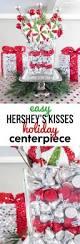 diy hershey u0027s kisses centerpiece for christmas an easy home decor
