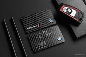 carbon design carbon fiber business cards