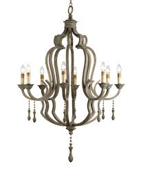 Currey And Company Lighting Currey And Company 9010 Waterloo 41 Inch Wide 8 Light Chandelier