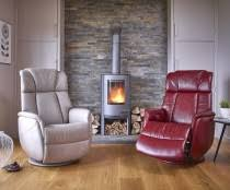 sorrento leather electric recliner chair betterlife from