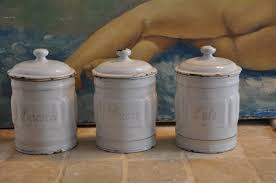 french kitchen canisters vintage french kitchen spice jars