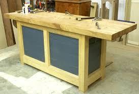 new workbench build popular woodworking magazine