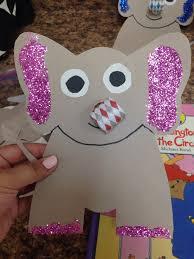 circus craft elephant early childhood craft ideas pinterest