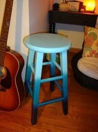 wood hand painted bar stools foter