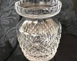 Vintage Waterford Crystal Vases Small Crystal Vase Etsy