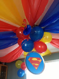 Party Decorating Ideas Best 25 Superhero Party Decorations Ideas On Pinterest Avengers