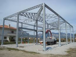 strutture in ferro per capannoni usate strutture per abitazioni e uffici metaltecnica srl