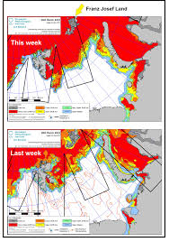 Barents Sea Map Polar Bear Habitat Update U2013 Even More Ice This Week In The Barents
