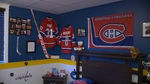 chambre canadien de montreal décoration chambre du canadien