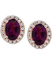 garnet earrings garnet earrings shop garnet earrings macy s