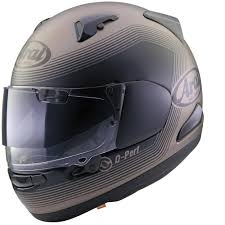 arai motocross helmets arai race helmets arai qv pro shade integral road black brown