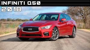 2018 infiniti q50 review rendered price specs release date youtube