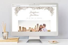 best wedding gift registry websites minted wedding websites